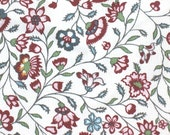 Red Velvet Yarrow - IKEA Sigbritt Cotton Fabric