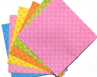 Rainbow Stars - 6x6 Forever In Time Paper Pack