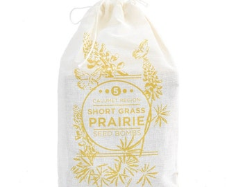 Short Grass Prairie Calumet Region Seed Bombs LIMITED EDITION
