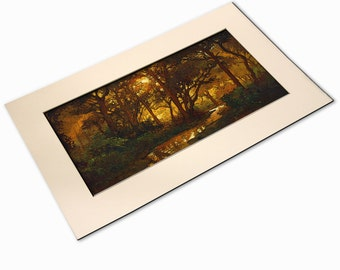 Awakening - Giclee Fine Art PRINT of Original Painting matted 12x20 by Jan Schmuckal