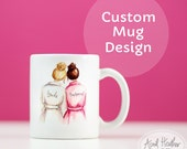 CUSTOM MUG -Custom mug// Bridesmaid//Maid//Matron of Honor Gift Invitation Thank you