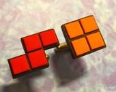 CUFFLINKS Tetris cuff links