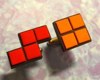 CUFFLINKS Tetris cuff links