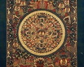Traditional, Hand-Painted Mandalas from Nepal