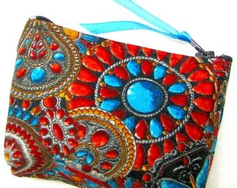 Coin purse, Mini coin purse, Small coin purse, Small zippered coin purse, Zipper coin purse, Wallet, Arizona Jewels