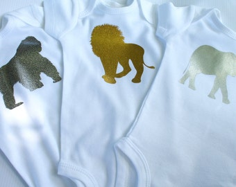 ZOO bodysuits & tees | 6 animals  |  Infant- Youth XL