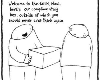 Complimentary Box CARTOON