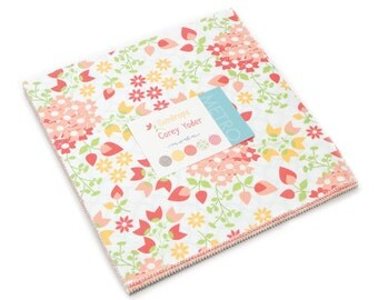 25% off Precuts SALE fabric, Sundrops Layer Cake, Corey Yoder by Moda, Precut 10 inch squares of Entire Line, Quilting squares