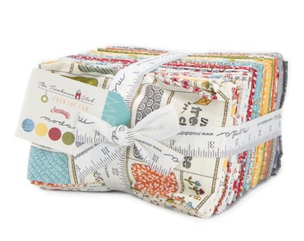 SALE 25% off, Treehouse Club fabric, Sweetwater for Moda, ENTIRE LINE in Fat Eights, Precut Fabric bundle, Text fabric, Adventure fabric