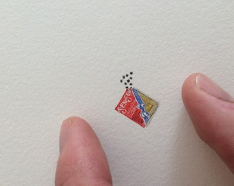Miniature Painting of sen sen by Brooke Rothshank