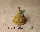 Bosc Pear Hat -  0 - 3 Months - Adullt Sizes -  Ready to Ship