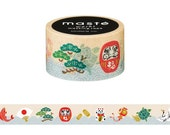Lucky Charm Washi Tape • Masté Masking Tape Japan Series MST-MKT90-A