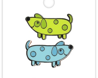 Weenies Dachshund Collectible Pin (Limited Edition) Doodlebug Collection Puppy Love Enamel Pin (5311)