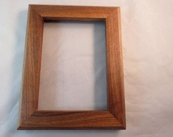 5x7 Black Walnut Sapwood Picture Frame BB