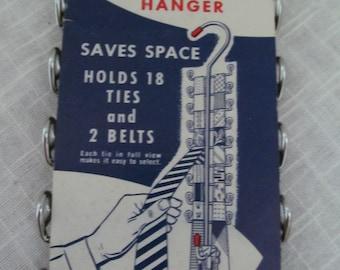 Marvel Tie and Belt Hanger NOS in Original Packaging