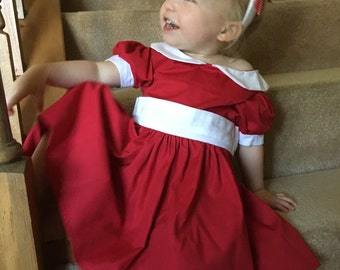 Annie Toddler Dress The Sun Will Come Out Tomorrow)