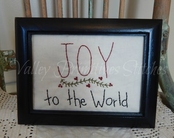 Joy To The World Stitchery, Christmas
