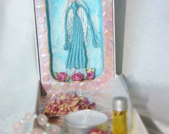 Mother Mary's Grotto - Traveling Altar
