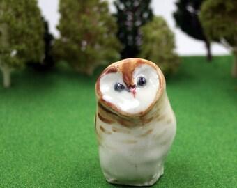 barn owl figurine