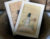 Cocoa & Cookies - LIMITED EDITION Folk Art Notecards - from Notforgotten Farm™