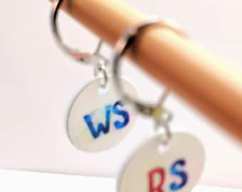 Right Side/Wrong Side, Removable Stitchmarkers for Knitters or Crocheters