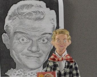 Spike Jones- Celebrity Doll- Miniature Art-  Songwriter-  Satire Comedy- Funny Man