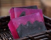 Black Currant Tea Soap - Handmade Glycerin Soap