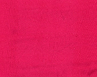 PINK (Damaged) 1x1 RIBBING, Cotton/Poly, 1/4 yd, 9 x 28 inches