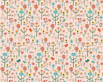 SALE Roots & Wings Coral Garden - 1/2 Yard