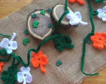 St. Patty's Day Crochet Garland
