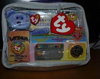 TY Beanie Babies Platinum Membership Kit