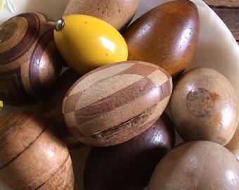 wood darning egg . darning egg . Wooden Darning Egg . German Darning Egg
