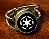 Steampunk Jewelry - Ring - The Empire - Star Wars