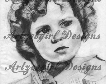 Shirley Temple , Print