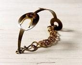Vintage Clock Hand Bracelet