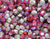 36 pp31 Padparadscha AB ss16 Swarovski 16 or 4mm Chatons Art 1028 Swarovski 4mm Chatons AB pp31 Padparadscha AB 31pp 4mm Padparadscha ab