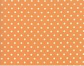 Preorder - Chestnut Street (20276 12) Pumpkin Polka Dot by Fig Tree & Co.