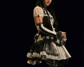 Visual kei lolita blouse