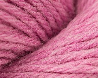 Peony Pink Heather Cascade 220 Yarn 220 yards 100% Peruvian Highland Wool color 2449