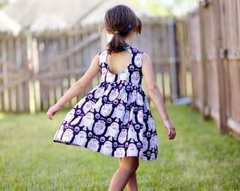 Day of the Dead Star Wars print Sweetheart Dress - Size 2T-6