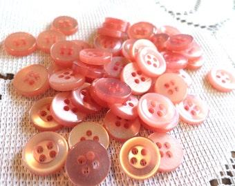 50 CUTE PINK Buttons