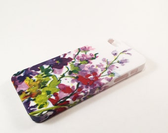 SALE!! Watercolor Flowers Phone Case - iPhone Case - Phone Back Cover