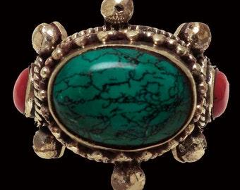 Handsome Vintage Nepali Ring
