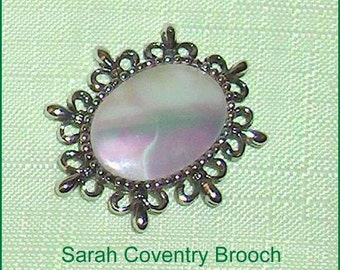 ON SALE   Sarah Coventry  Vintage Brooch Pin Jewelry Made in Canada
