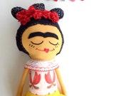 Frida Doll // Soft Rag Doll