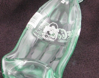 Ohio State Football Rose Bowl Vintage coke bottle - Melted COKE bottle spoonrest or dish - melted bottle - OSU