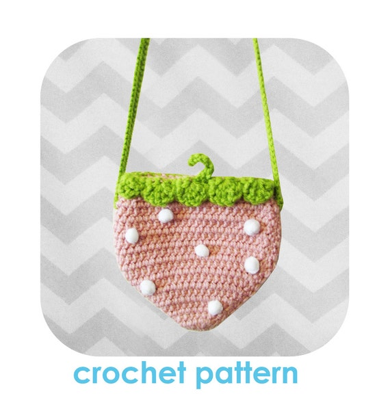Crochet Crossbody Bag Pattern : All Bags & Purses
