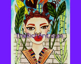TheQueensofRich 5x7 print 13
