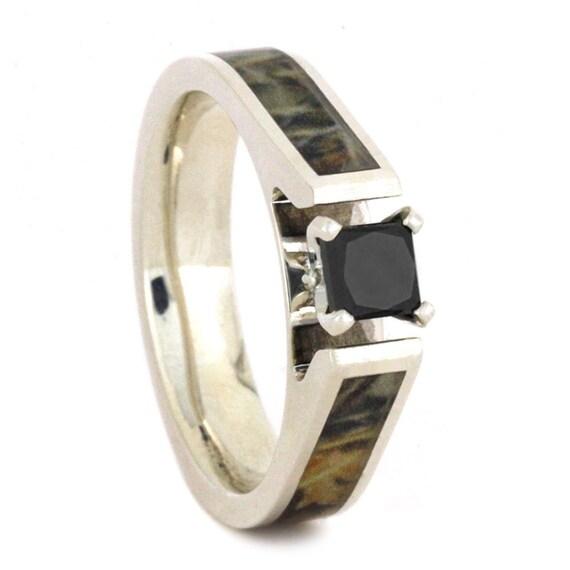 princess cut black diamond engagement ring by jewelrybyjohan. Black Bedroom Furniture Sets. Home Design Ideas