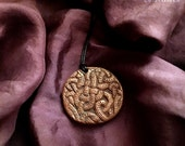 Altar Shaman - Nordic Pendant - Handmade For Necklace or Display